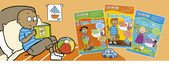 The Smart-Kids series consists of top-quality educational material designed for South African children from early childhood development years to Grade 7.