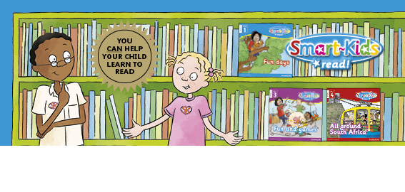 The Smart-Kids Read! series develops children's first reading skills with straight-forward but entertaining stories and fun and engaging illustrations.