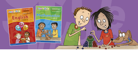 Let the Smart-Kids help to develop your child's English Home Language skills.