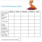These are star chart templates to download and print.